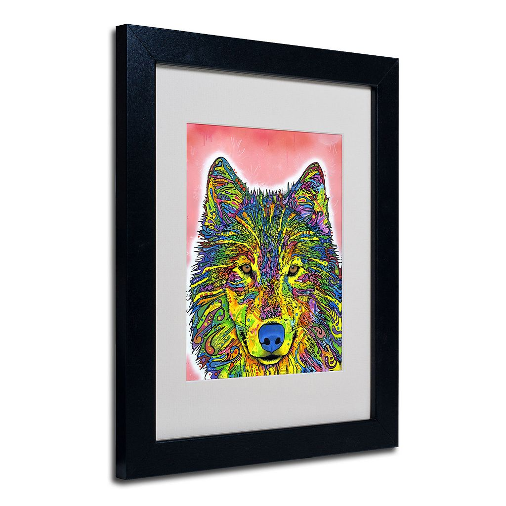 ''Wolf'' Framed Canvas Wall Art