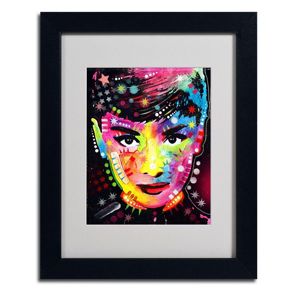 14'' x 11'' ''Audrey'' Framed Canvas Wall Art