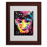 14'' x 11'' ''Audrey'' Framed Canvas Wall Art