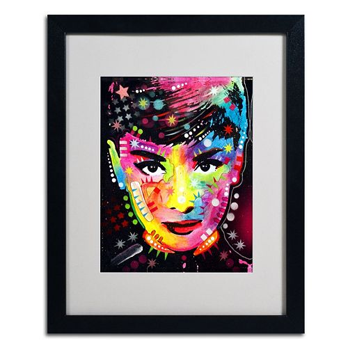 20'' x 16'' ''Audrey'' Framed Canvas Wall Art