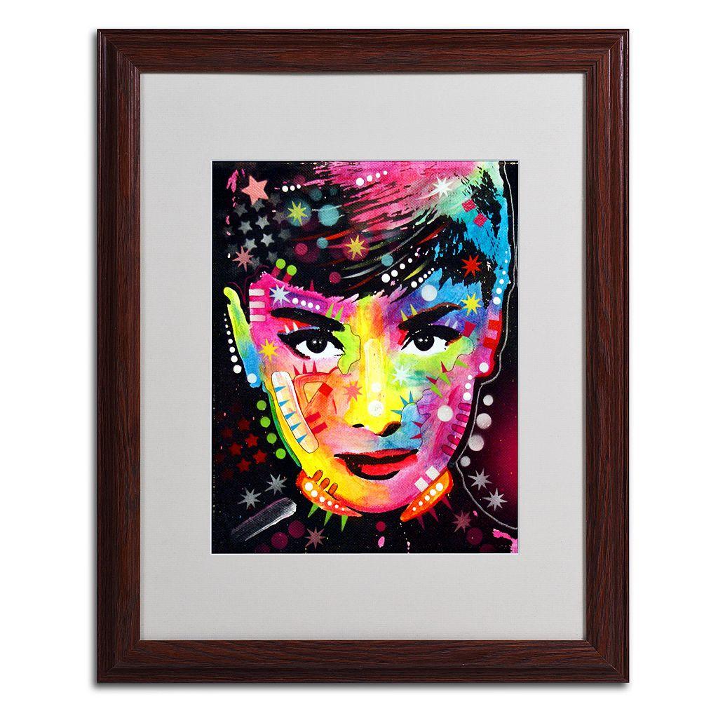 20'' x 16'' ''Audrey'' Framed Canvas Wall Art