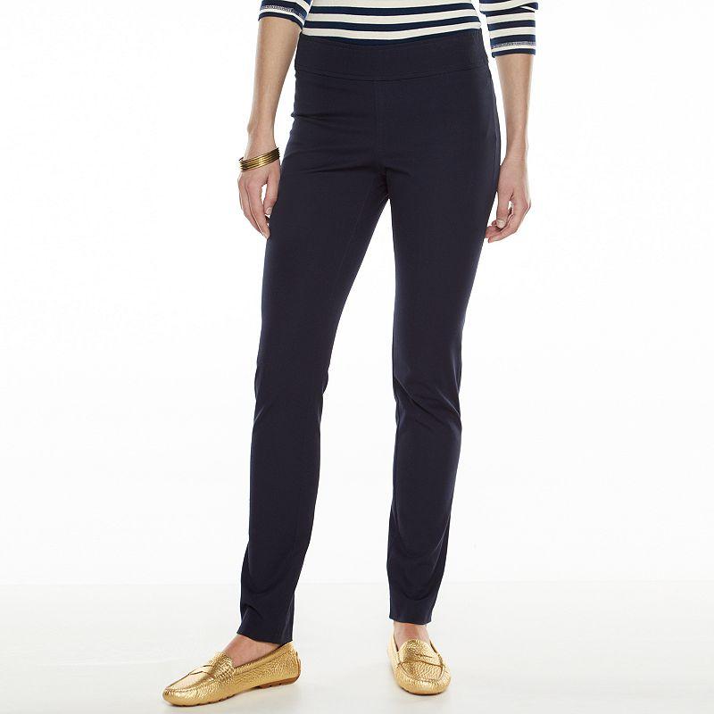 Chaps Skinny Pants - Women's Size 8 (Blue)