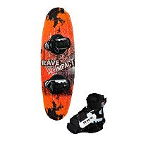 Rave Sports Youth Impact Wakeboard with Charger Boots