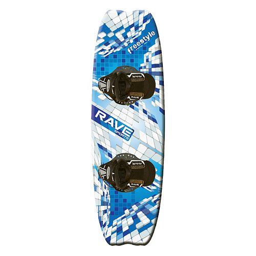 RAVE Sports Freestyle Wakeboard with Striker Boots
