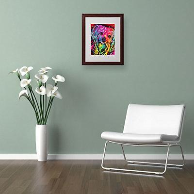 20'' x 16'' ''Yorkie'' Framed Canvas Wall Art