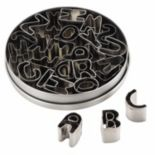 Cake Boss™ Decorating Tools 26 pc Stainless Steel Alphabet Fondant & Cookie Cutter Set