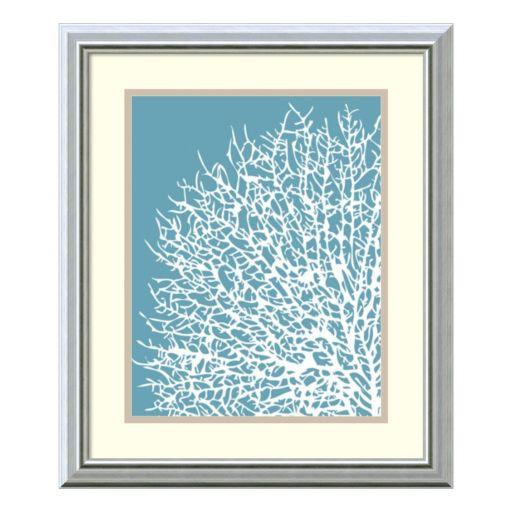 ''Coral I'' Framed Wall Art