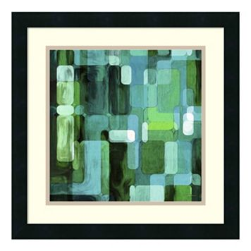 ''Modular Tiles II'' Framed Wall Art
