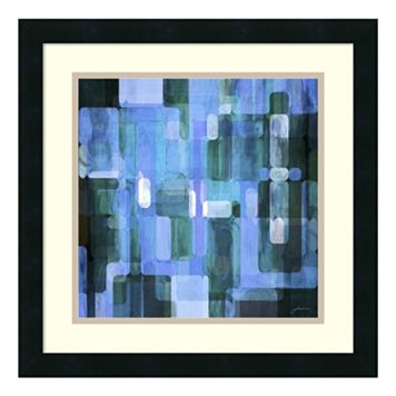 ''Modular Tiles III'' Framed Wall Art