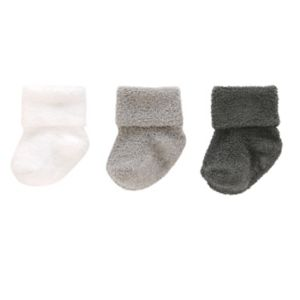 Baby Carter's 3-pk. Chenille Roll-Cuff Socks