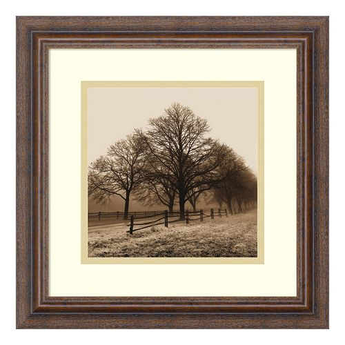 ''Row of Trees'' Framed Wall Art