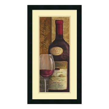 ''From The Cellar II'' Wine Framed Wall Art