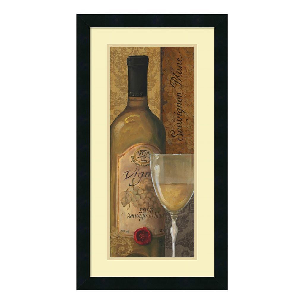 ''From The Cellar I'' Wine Framed Wall Art