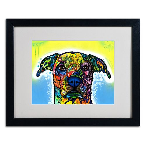 "''Fiesta'' 16"" x 20"" Dog Framed Canvas Wall Art"
