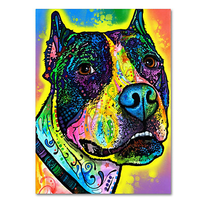 14'' x 19'' ''Justice'' Canvas Wall Art