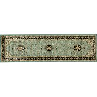 Infinity Home Barclay Medallion Kashan Rug Runner - 2'7'' x 9'10''