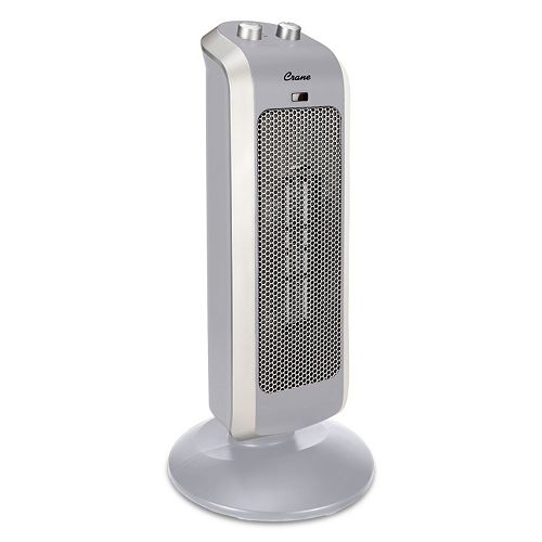 Crane Mini Ceramic Oscillating Tower Heater