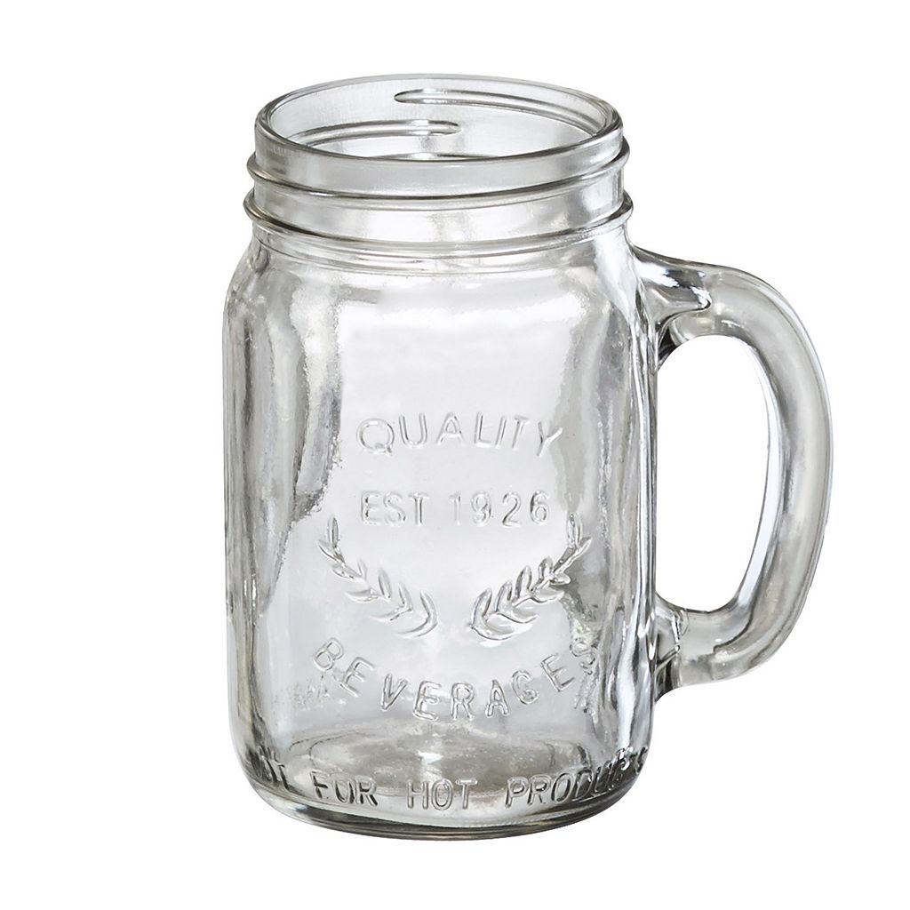 Artland Oasis 4-pc. Glass Mason Jar Set