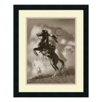 ''Buckeye Beauty'' Horse Framed Wall Art