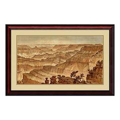 ''Grand Canyon 1882'' Framed Wall Art