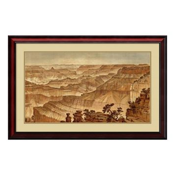 ''Grand Canyon 1882'' Framed Wall Art
