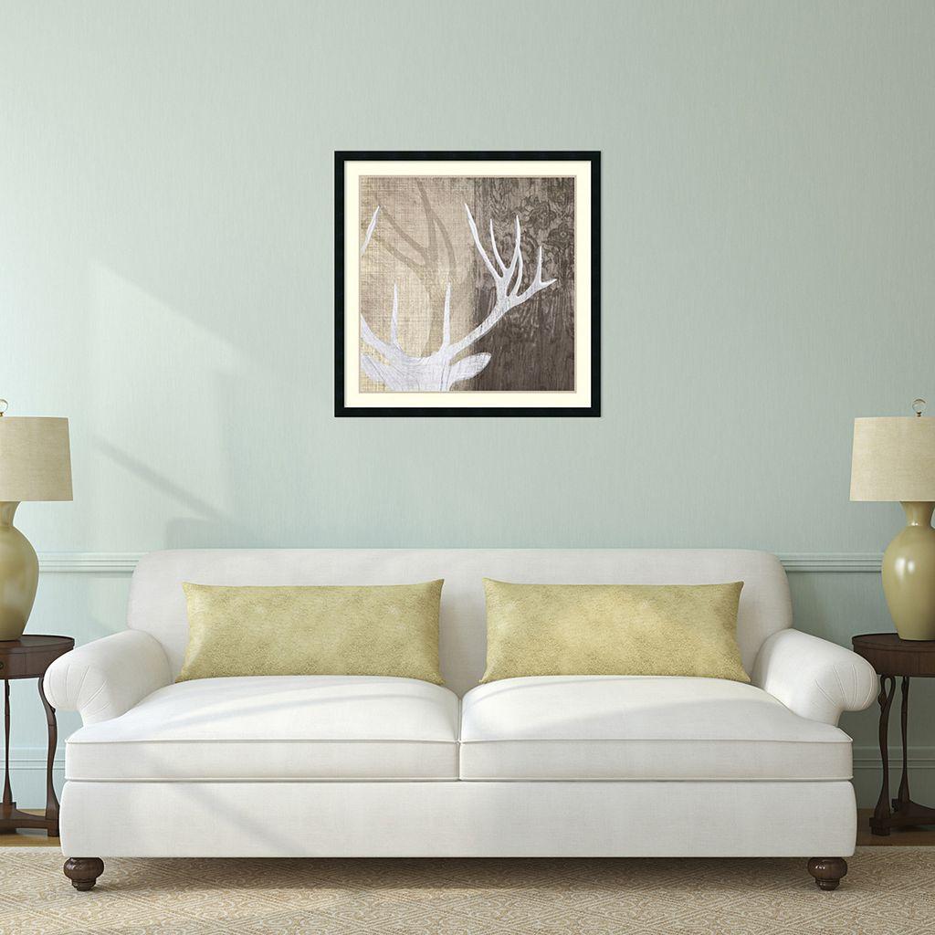 ''Deer Lodge II'' Framed Wall Art