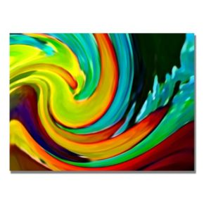 32'' x 24'' ''Crashing Wave'' Canvas Wall Art