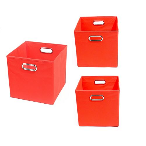 Modern Littles 3-pc. Solid Storage Bin Set