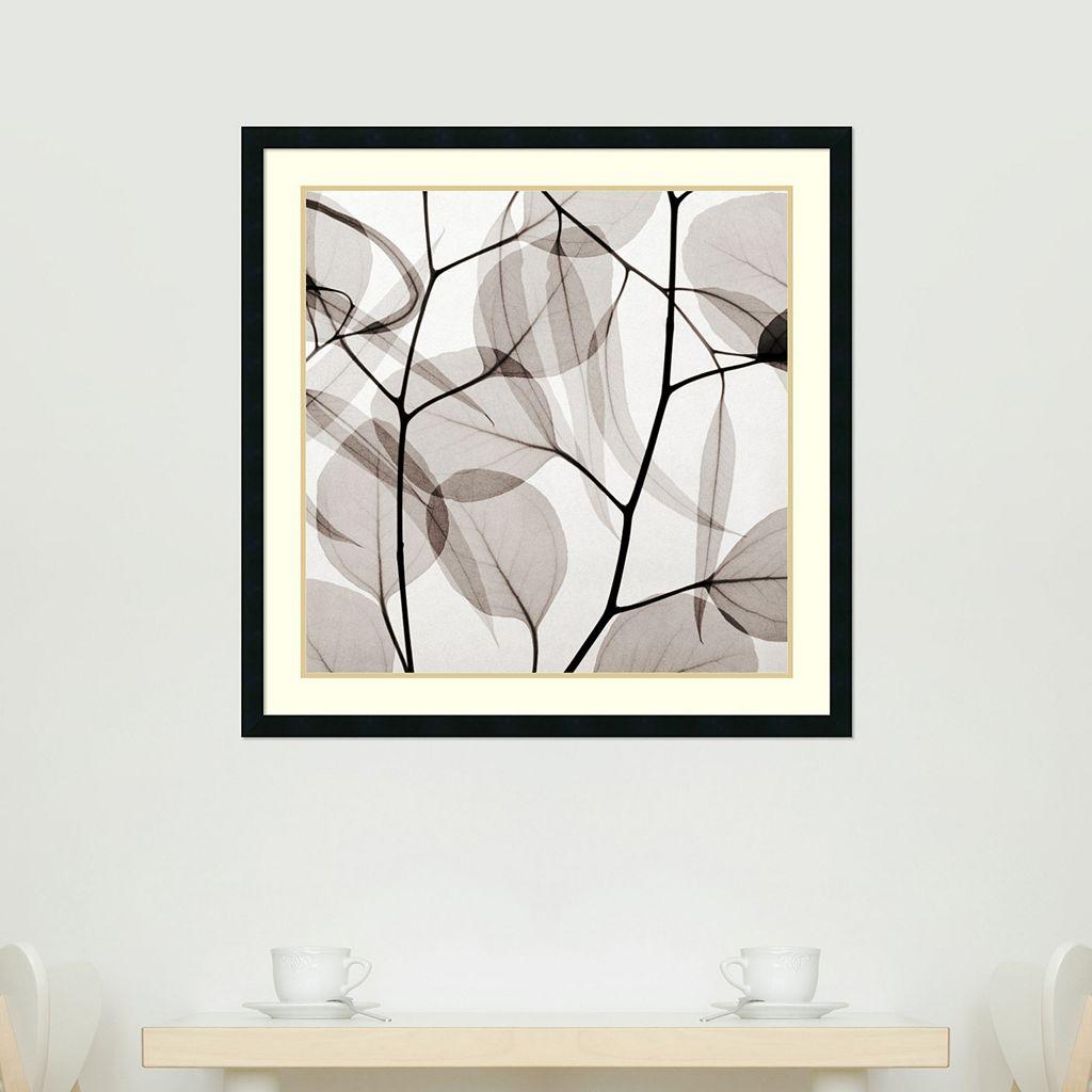 ''Eucalyptus Leaves'' Framed Wall Art
