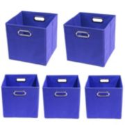 Modern Littles 5-pc. Solid Storage Bin Set