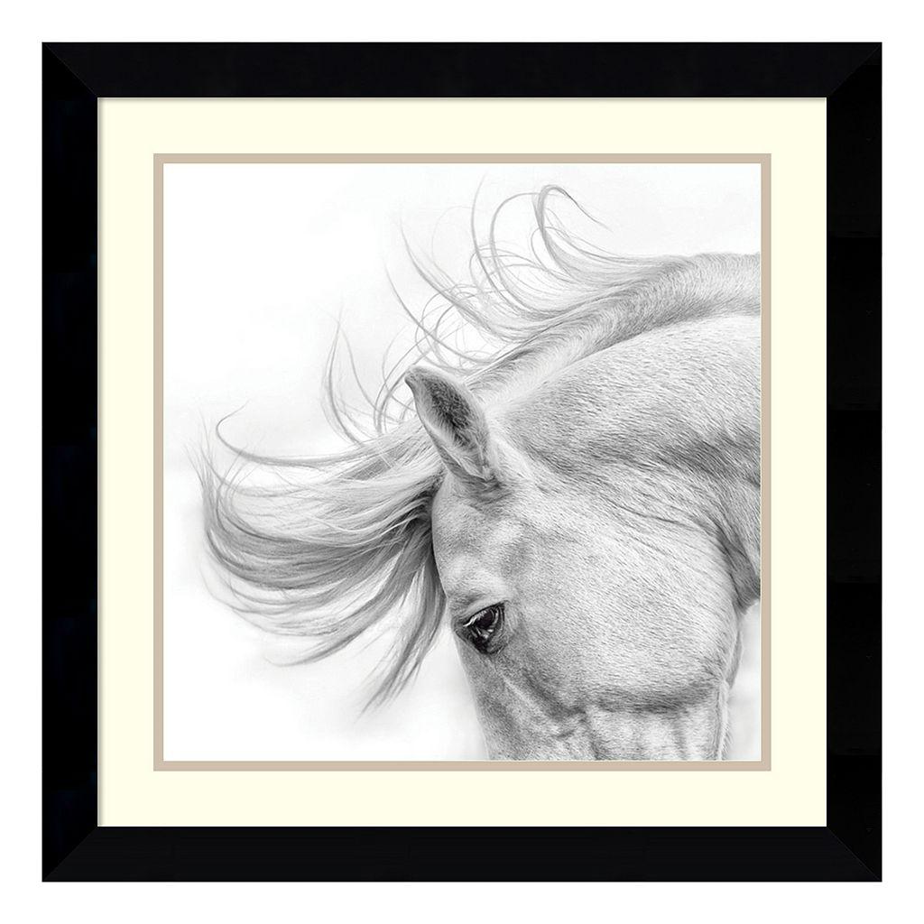 ''Flair'' Horse Framed Wall Art