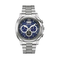 Bulova Men's Stainless Steel Chronograph Watch - 96B219