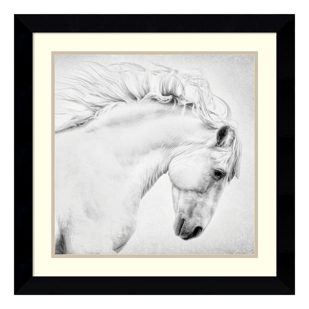 ''Attitude'' Horse Framed Wall Art