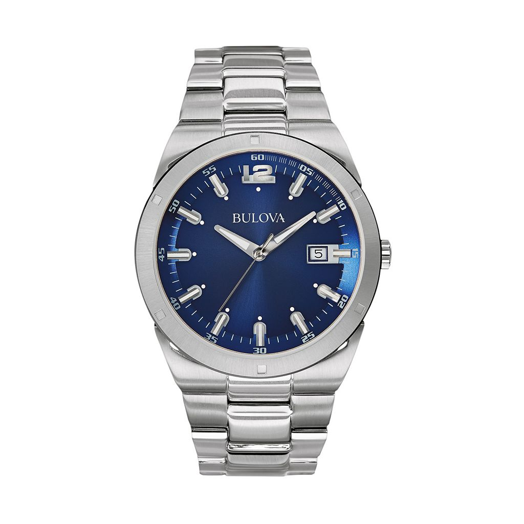 Bulova Men's Stainless Steel Watch - 96B220