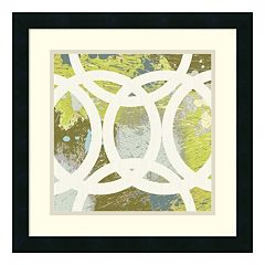 ''Circling II'' Framed Wall Art