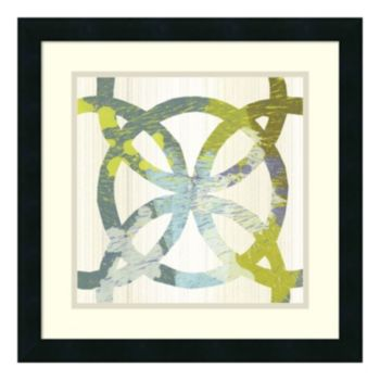 ''Ornamental II'' Circle Framed Wall Art