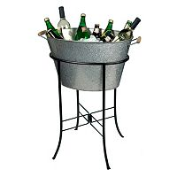 Artland Oasis Galvanized Oval Party Tub