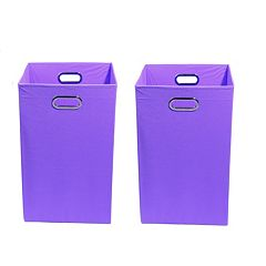 Modern Littles 2-pc. Solid Storage Bin Set