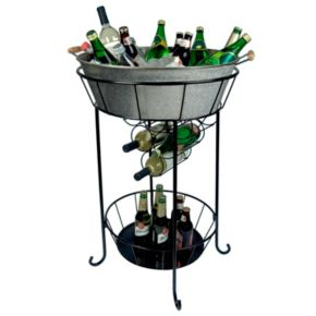 Artland Partyware Galvanized Party Station