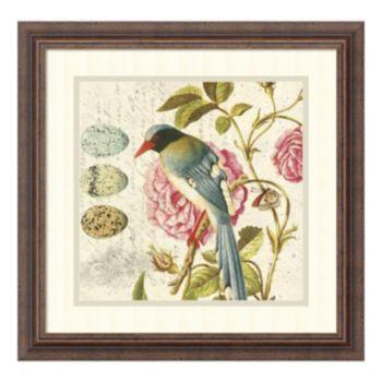 ''Bird Study 1'' Framed Wall Art