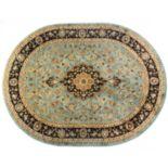 Infinity Home Barclay Medallion Kashan Rug - 5'3'' x 6'10'' Oval