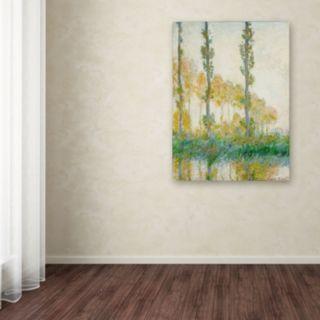 24'' x 18'' ''The Three Trees Autumn'' Canvas Wall Art by Claude Monet
