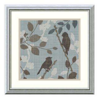 ''A Sparrow's Garden II'' Bird Framed Wall Art