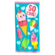 Jumping Beans® ''So Cool!'' Ice Cream Beach Towel