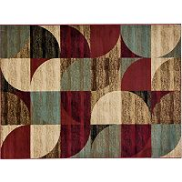 Infinity Home Barclay Bowery Art Deco Rug - 5'3'' x 7'3''