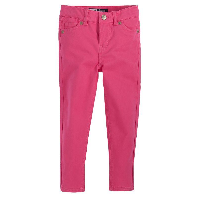 Levi's Marisa Solid Denim Leggings - Toddler (Pink)