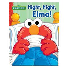 Sesame Street Night, Night, Elmo! Book