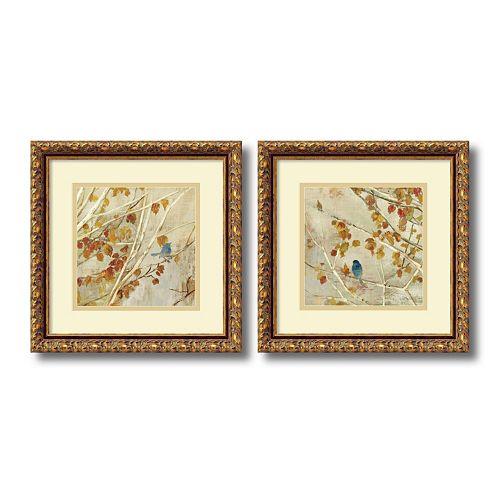 Singing\'\' Bird 2-piece Framed Wall Art Set