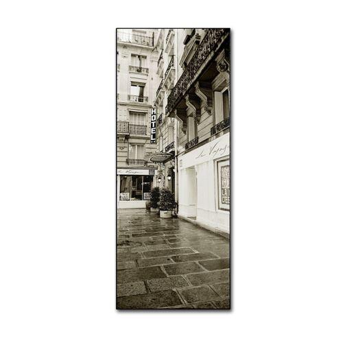 36'' x 12'' ''Hotel in Paris'' Canvas Wall Art