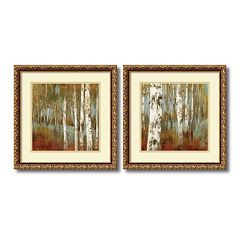 ''Along the Path'' Tree 2-piece Framed Wall Art Set